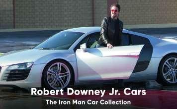 Robert Downey Junior Cars Iron Man Car Collection