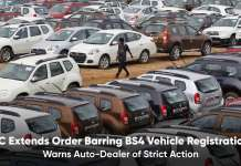 SC extends order barring BS4 Vehicle Registration
