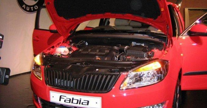 Skoda Fabia   Under the hood