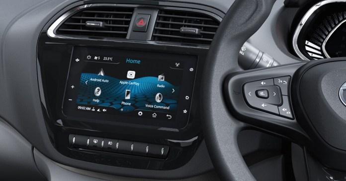 Touchscreen Infotainment | Tata Tiago