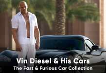 Vin Diesel Car Collection