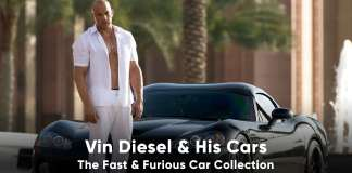 Vin Diesel Car Collection