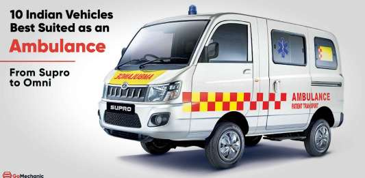 best indian vehicles as an ambulance