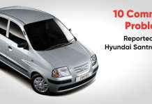 common problems on a hyundai santro xing