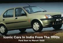 iconic cars in India from the 1990s