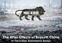 The after effects of boycott china in the indian automotive sector