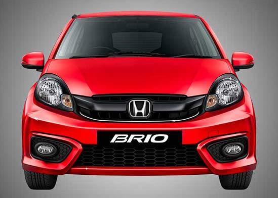 Honda Brio Front Profile