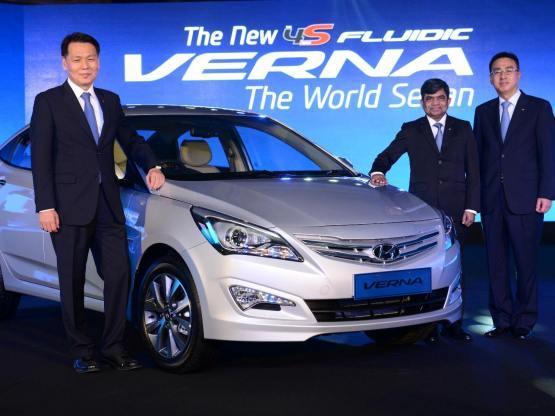 Hyundai Verna 2015