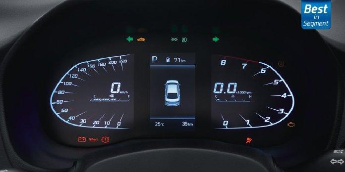 Hyundai Verna 2020 Instrument Cluster