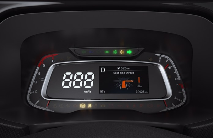 Integrated Instrument Cluster