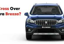 Maruti Suzuki SCross over Vitara Brezza