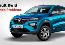 Most Common Problems on the Renault Kwid
