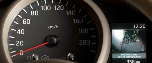 Nissan Evalia | Instrument cluster