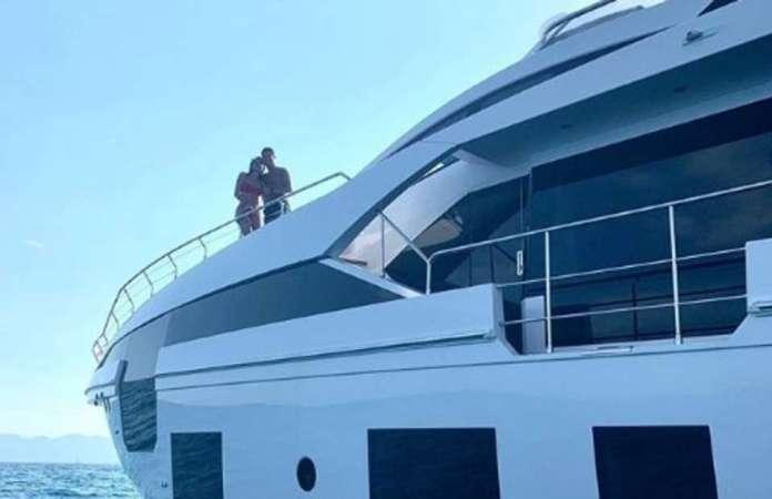 Ronaldo's 5.5 million pounds Yacht
