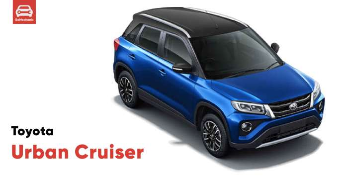 Toyota Urban Cruiser Variant Wise Features Leaked