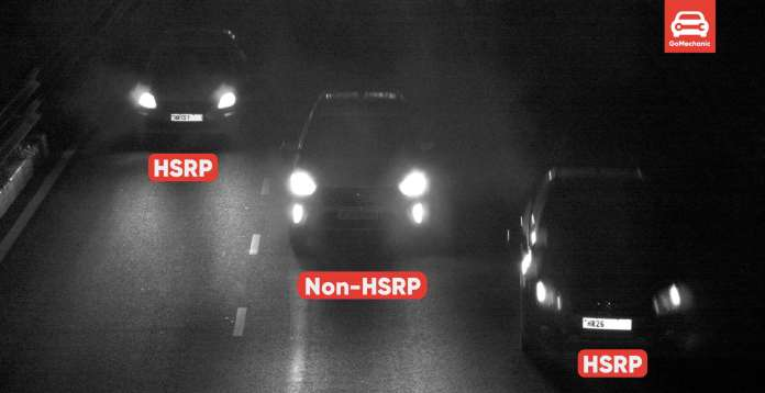 Difference Between HSRP and Non HSRP in India