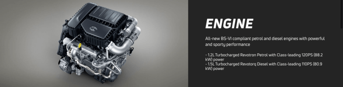 Engine Specification