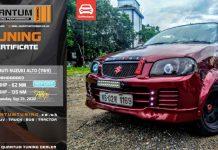 Sriniketh's Certified Fastest Maruti Suzuki Alto