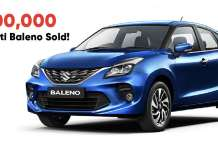 8 Lakh Maruti Suzuki Baleno Sold in 5 Years - A New Milestone!