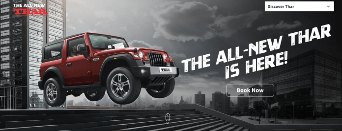 2020 Mahindra Thar launched