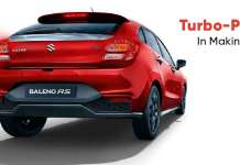 Baleno Turbo Petrol In Making?
