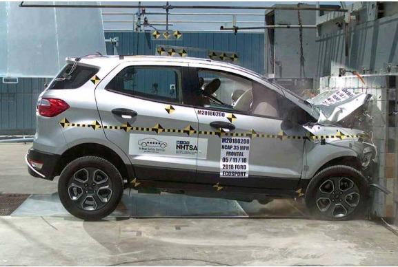 Ford Ecosport | Crash Test