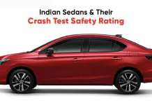 Indian Sedans & Their Crash Test Safety Rating