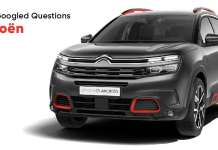 Most Googled Questions Citroen in India