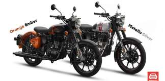 Royal Enfield Classic 350 Introduced With Two New Colours
