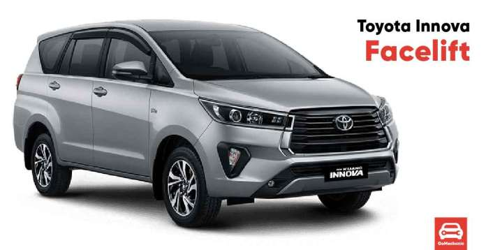 Toyota Innova Facelift Launched