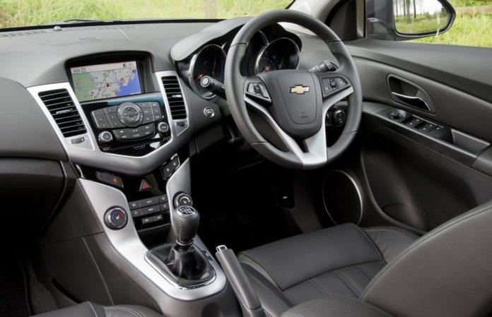 Chevrolet Cruze 2012 Interior