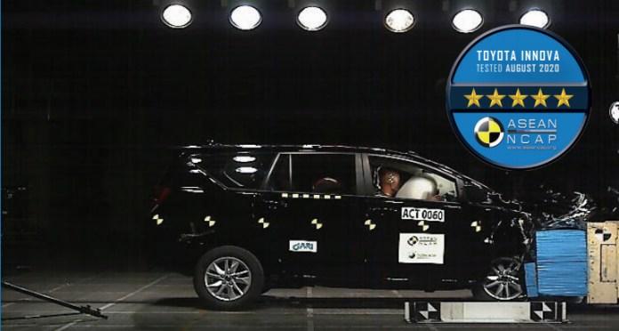 Toyota Innova Crash Test Rating