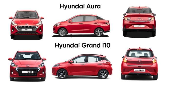 Hyundai Aura vs Grand i10 Nios