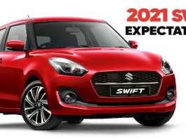 2021 Maruti Suzuki Swift Expectations