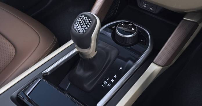 Harrier's automatic transmission