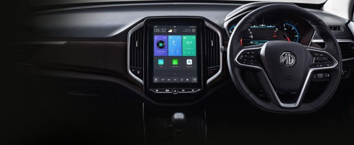 MG Hector's Infotainment System
