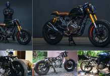 Modified Bajaj Pulsar 150 a.k.a Project 69