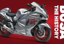 The History Of The Suzuki Hayabusa