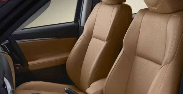 Toyota Fortuner Leather Seats