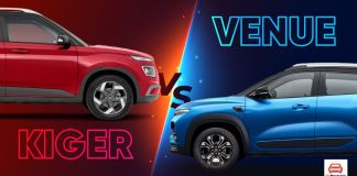 Renault Kiger vs Hyundai Venue