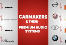 Car makers and thier favourite audio system