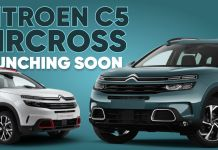 Citroen C5 Aircross launching soon