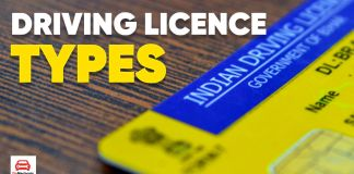 Driving Licence Types in India