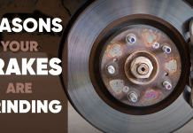 Reasons Your Brake are Grinding
