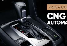 CNG in automatic ft