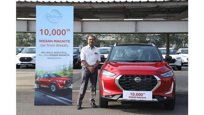 Nissan Magnite 10,000 production milestone