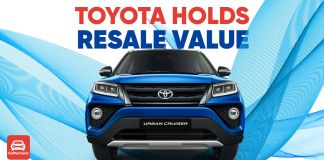 Toyota holds resale value ft