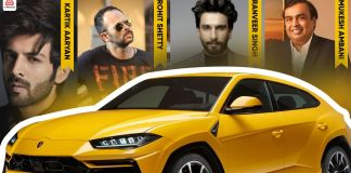 famous Indians who own the urus