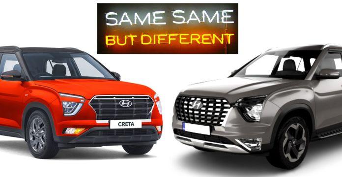 Hyundai Creta vs Alcazar