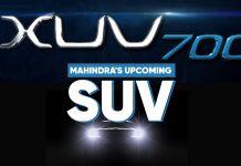 Mahindra XUV700 Teased